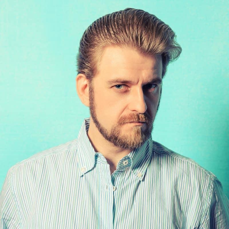 men'srockabilly hairstyle