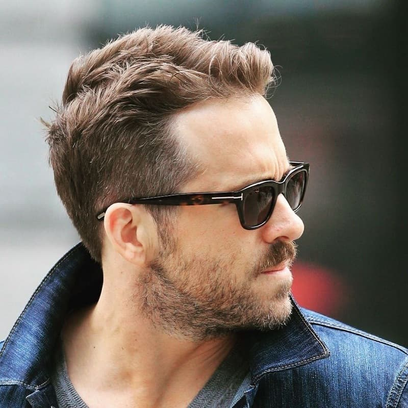 beat ryan reynolds hairstyle