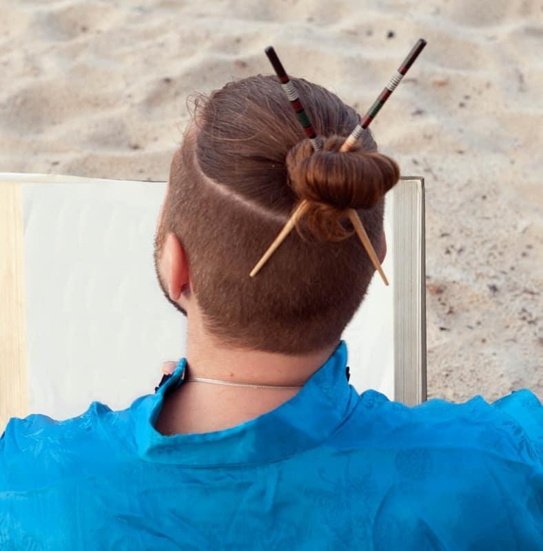 samurai hairstyle for men