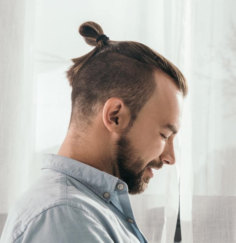 samurai top knot for guys