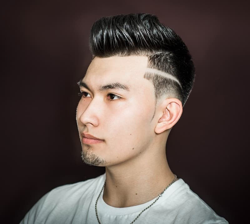 shape up haircut with fade