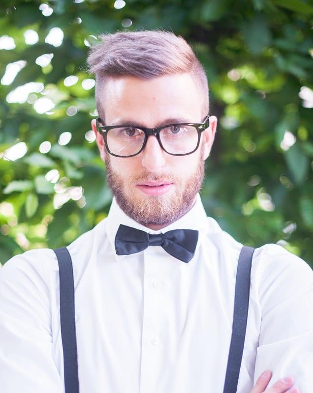 short hipster haircut for men