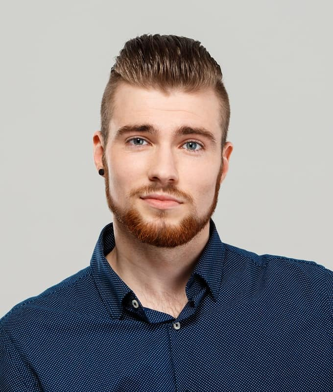 slick back haircut for men