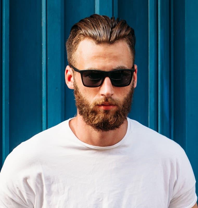 slick back haircut for guys