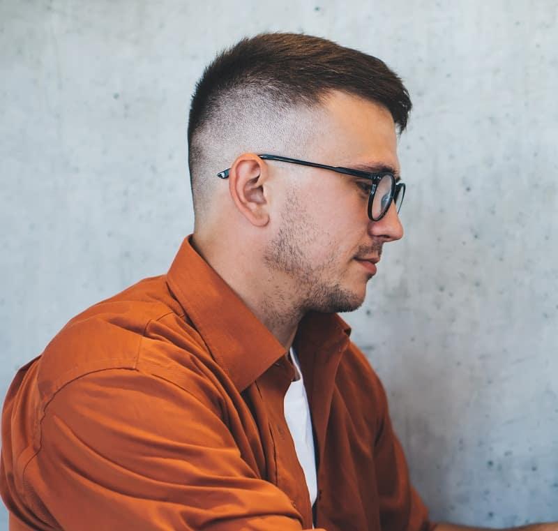 high taper fade haircut