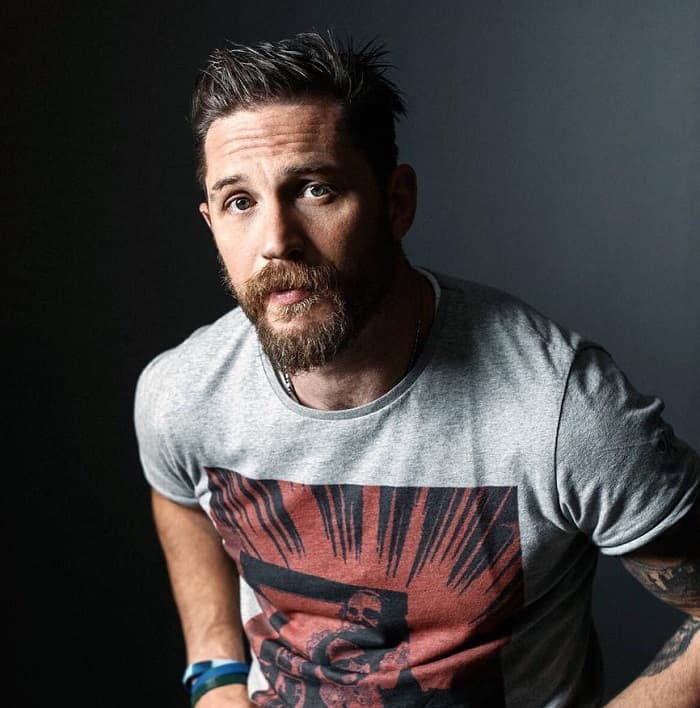 tom hardy with hipster beard