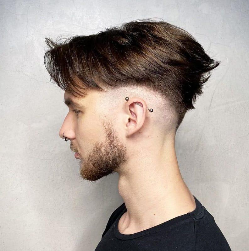 v shape haircut for guys