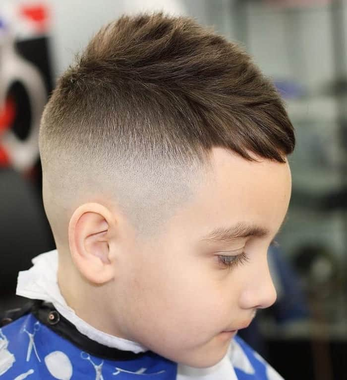 high and tight hairstyle for little boy