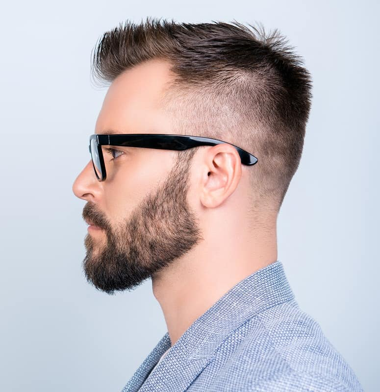 spiky haircut for men