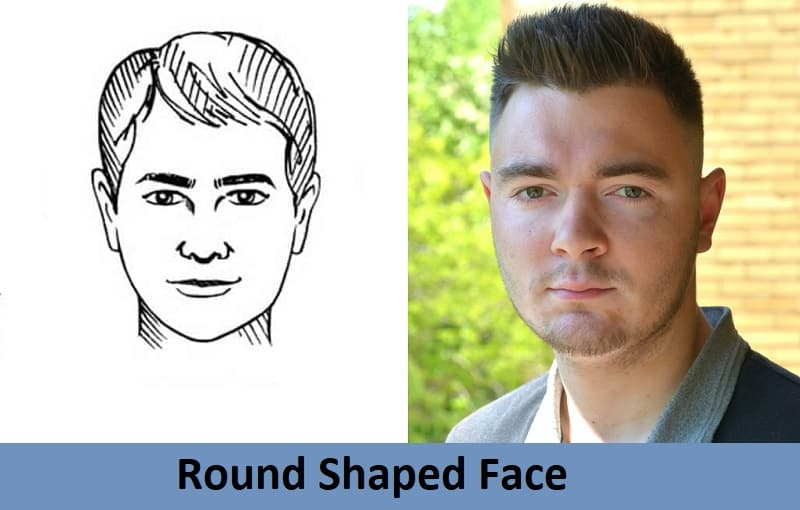 hairstyles for round shaped face