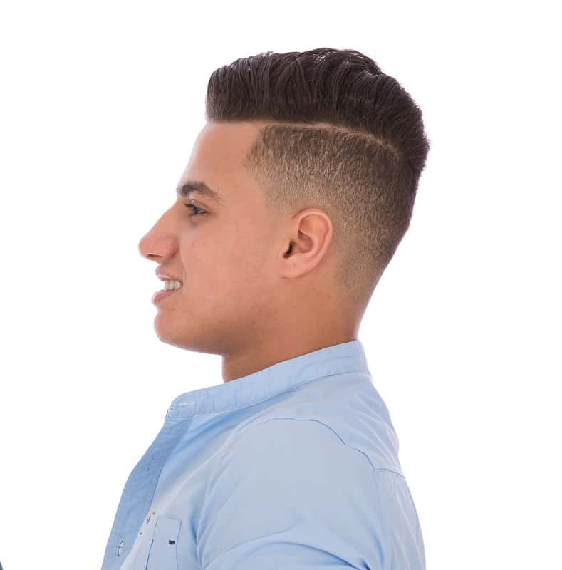 men's taper fade haircut